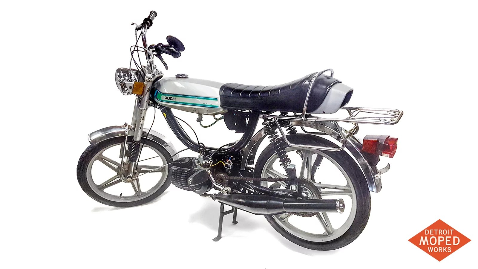 Puch Magnum for sale at Detroit Moped Works
