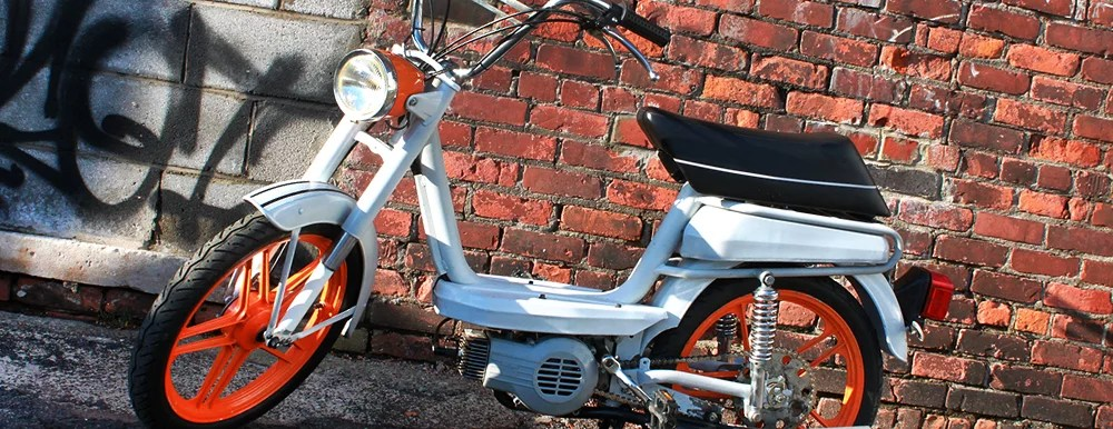 Breaking in and maintaining your moped – Detroit Moped Works