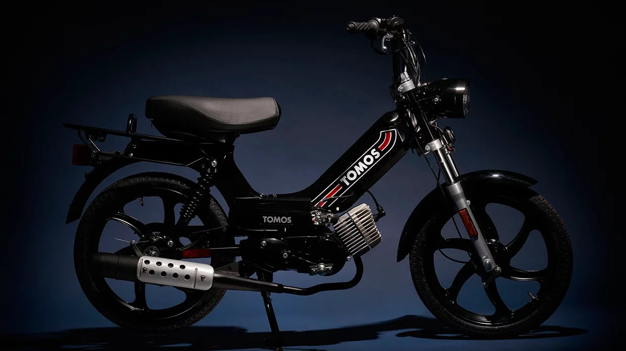 New Tomos Sprint A55 Black Detroit Moped Works