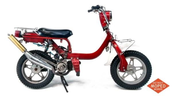 1982 Suzuki FZ50Z 2 Speed Dirt-Ped Noped Detroit Moped Works 2