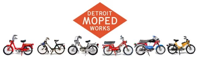 Detroit Moped Works – Repairing and Selling Vintage Two Stroke Pedal