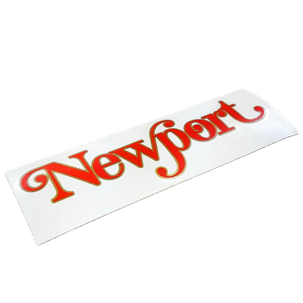 Puch Newport moped reproduction decal from Detroit Moped Works