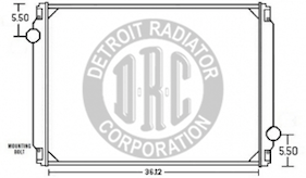 Detroit Radiator Corporation Heavy Duty Truck Radiators