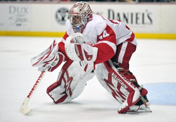 Petr Mrazek Controls His Own Fate