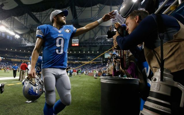 Matthew Stafford named 2018 Walter Payton Man of the Year nominee