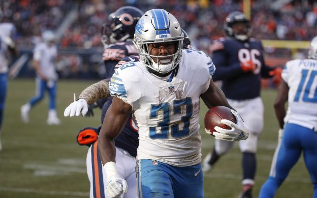 Injury report: Kerryon Johnson OUT, 8 Lions—including Stafford—questionable