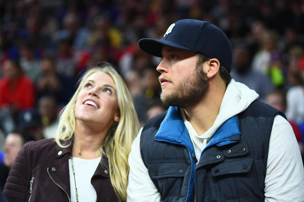 LOOK: Kelly Stafford reaches goal, posts photo on...