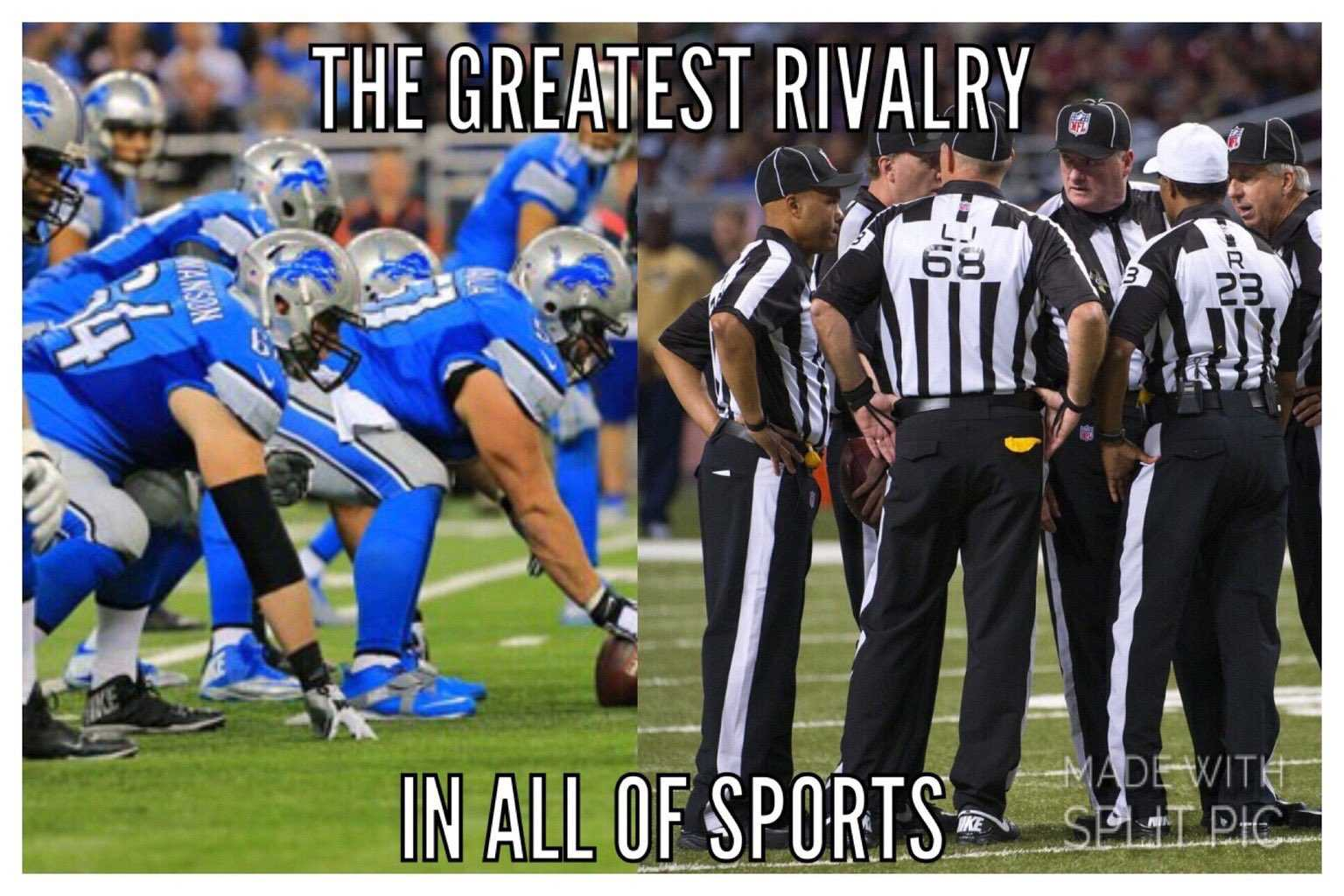 Barry Sanders Calls Out Nfl Officials For Screwing Detroit Lions On Monday Night Football Detroit Sports Nation