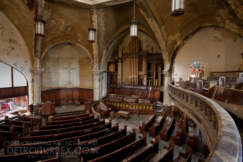 Stunning Abandoned Church in Detroit  FM Forums