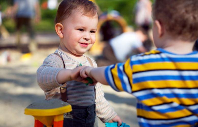 Развитие общественного поведения ребенка