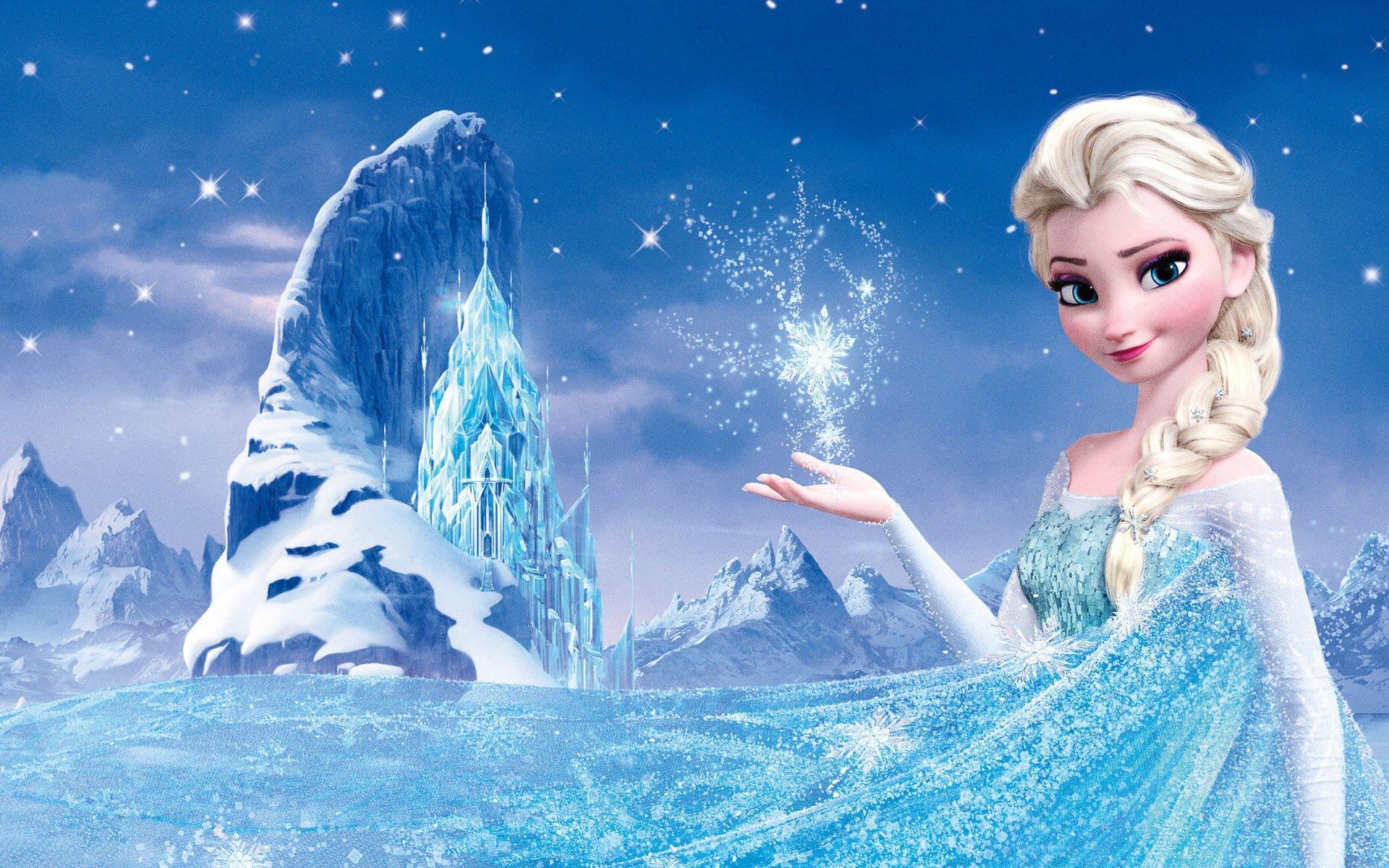 frozen vs the snow
