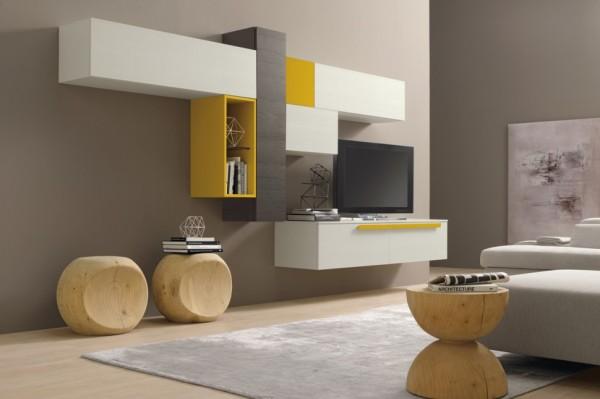 Modern nappali szekrnyfalak  DettyDesign Lakberendezs
