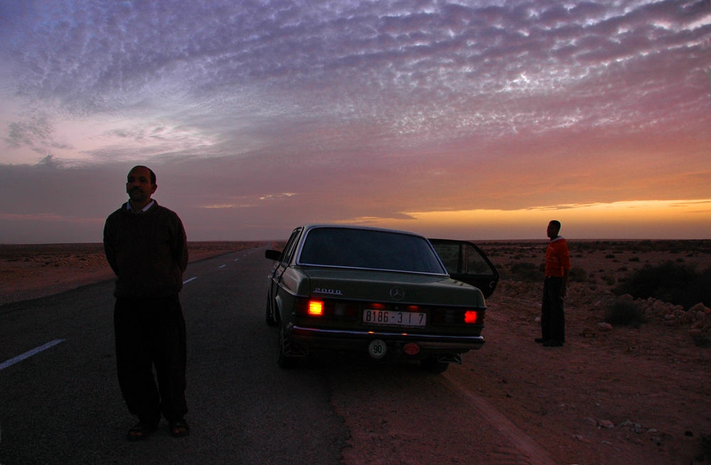 solnedgang marokko
