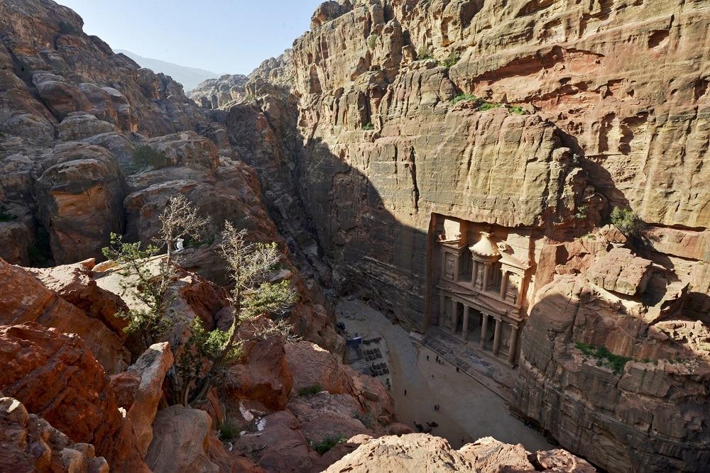 Al Khazneh, Treasury, Petra, Jordan,