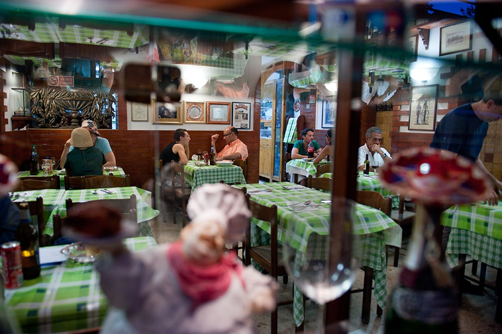 Restaurant Antica Osteria da Giovanni i Roma i Italia