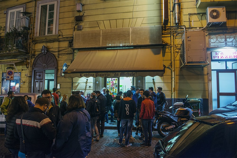 Antica Pizzeria da Michele, Napoli