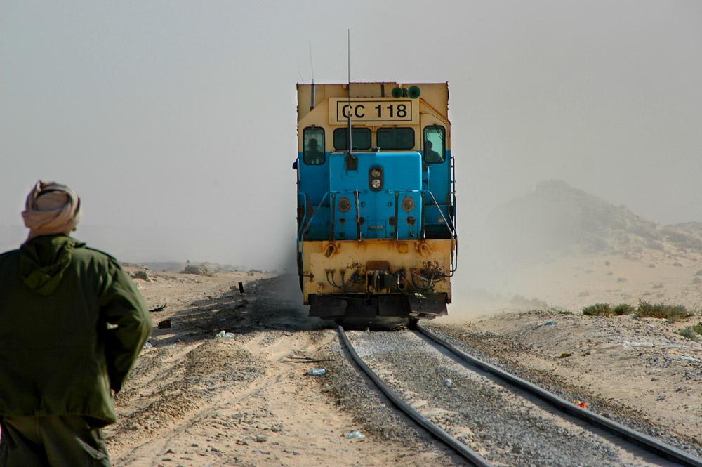 SNIM, tog i Mauritania, jernbane i Sahara