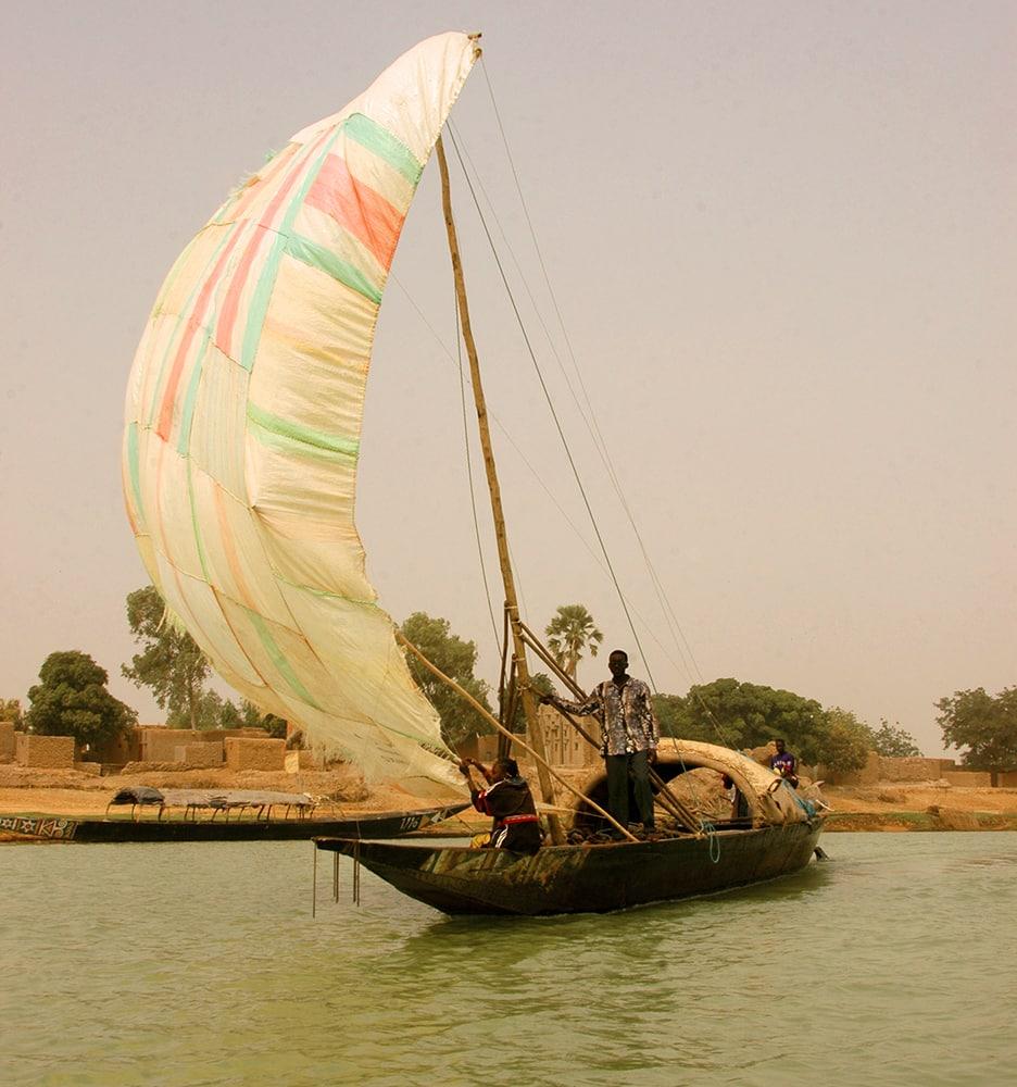 pinasse, Niger, Mali