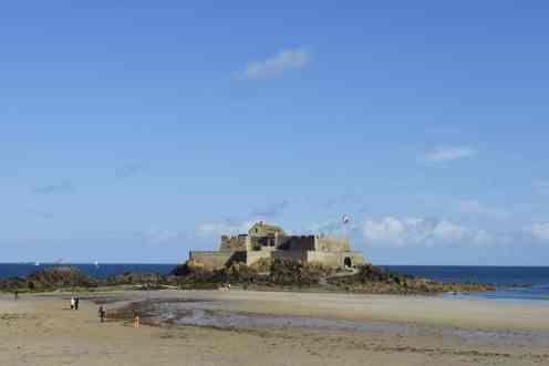 Fort National, Saint-Malo, Bretagne, Frankrike