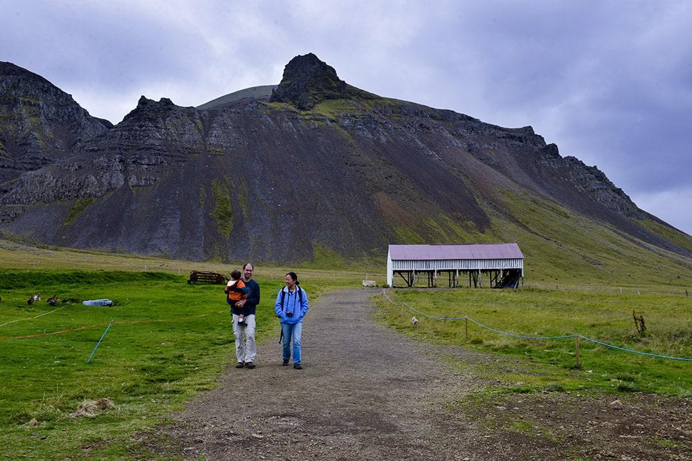 Bjarnarhófn, Island, hákarl museum