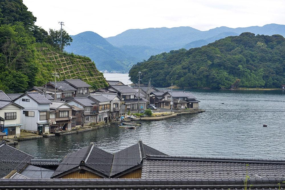 Ine-chō, Ine, Kyoto, Japan, fiskerlandsby, landsby i Japan