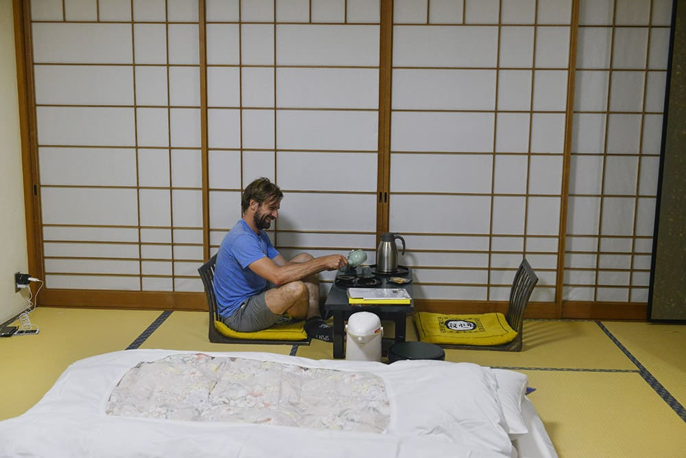 Ryokan i Japan, japansk hus