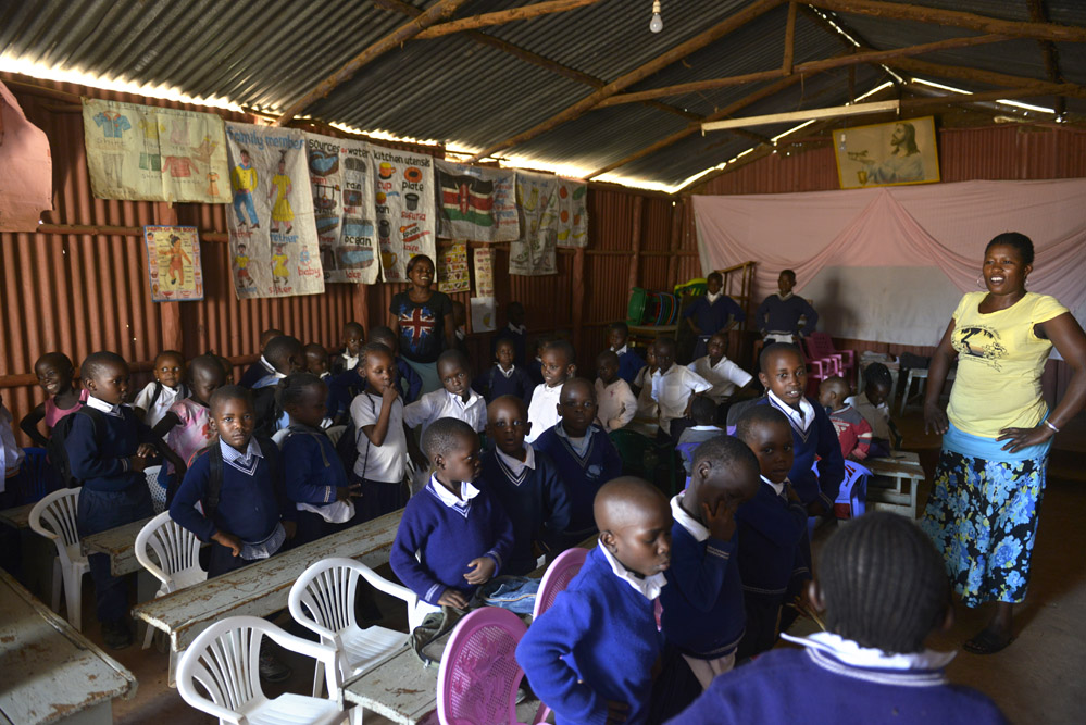 Kibera, skole, Kenya