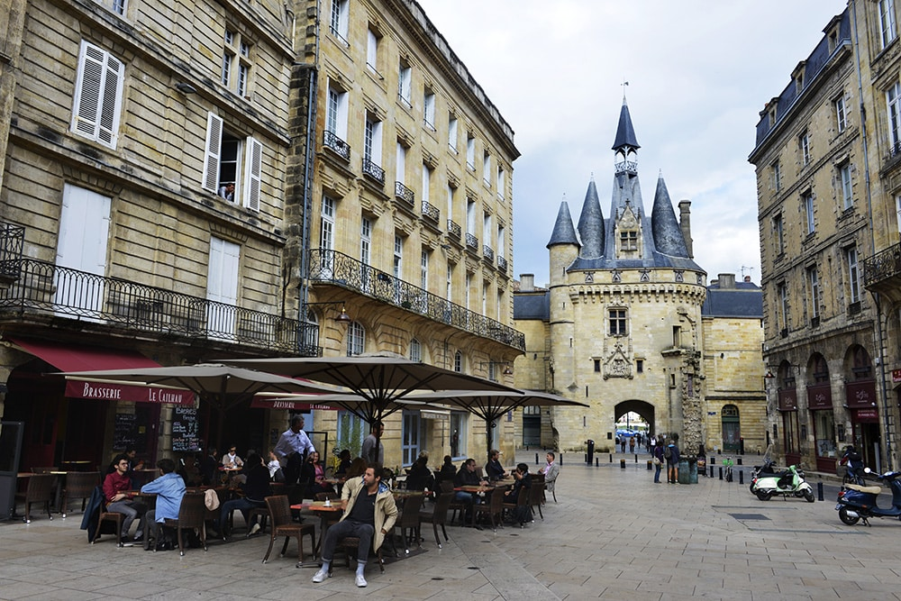 Tour Pey-Berland, Bordeaux gamleby