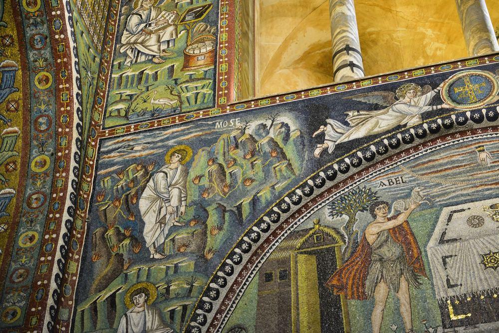Basilica San Vitale, Ravenna, mosaikk, kunst, verdensarv, Italia