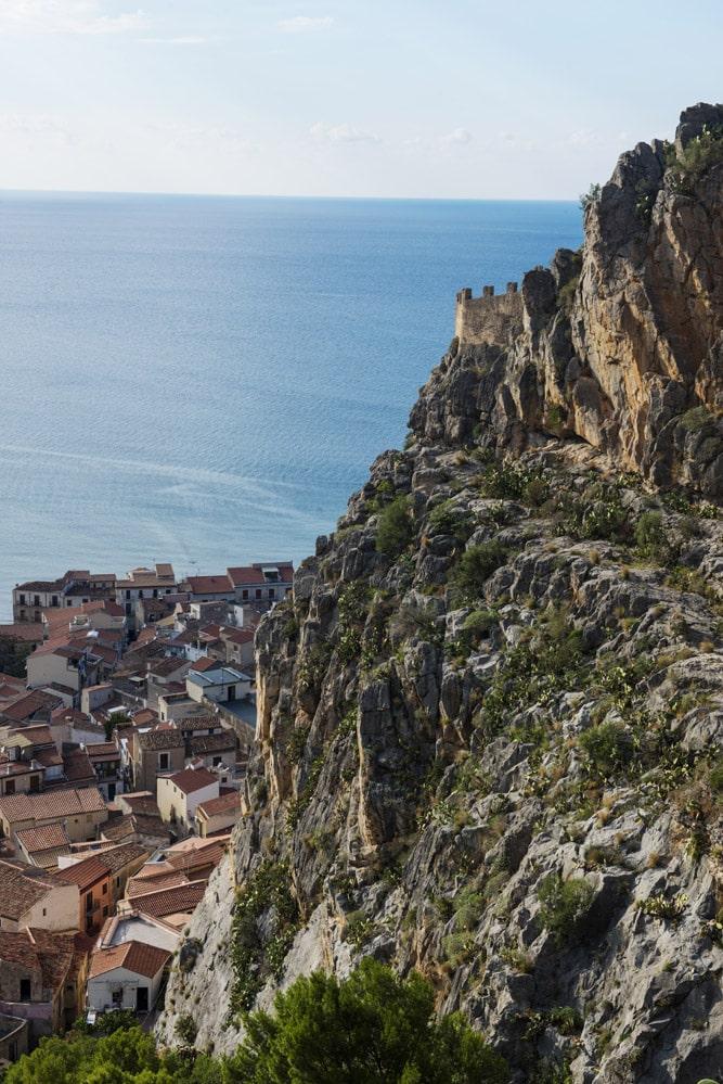 La Rocca, utsikt, Cefalù