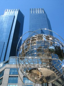 Trump Towers, New York, globus, feng shui