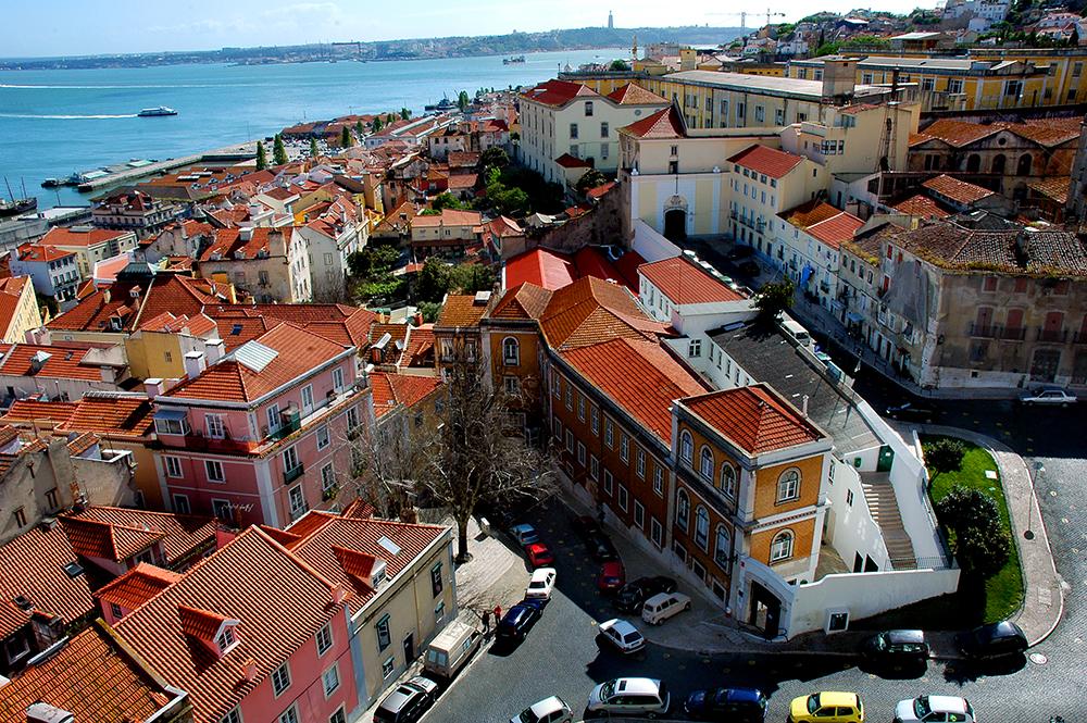 Alfama, Lisboa, Panteao Nacional Lisbon