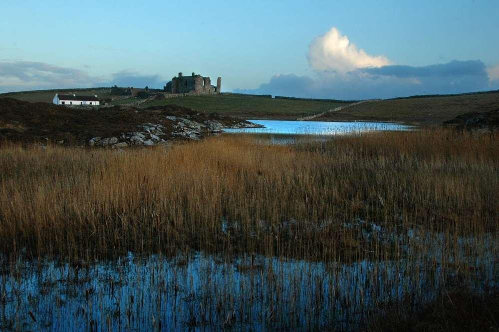 Bunowen Castle i Clifden Connemara
