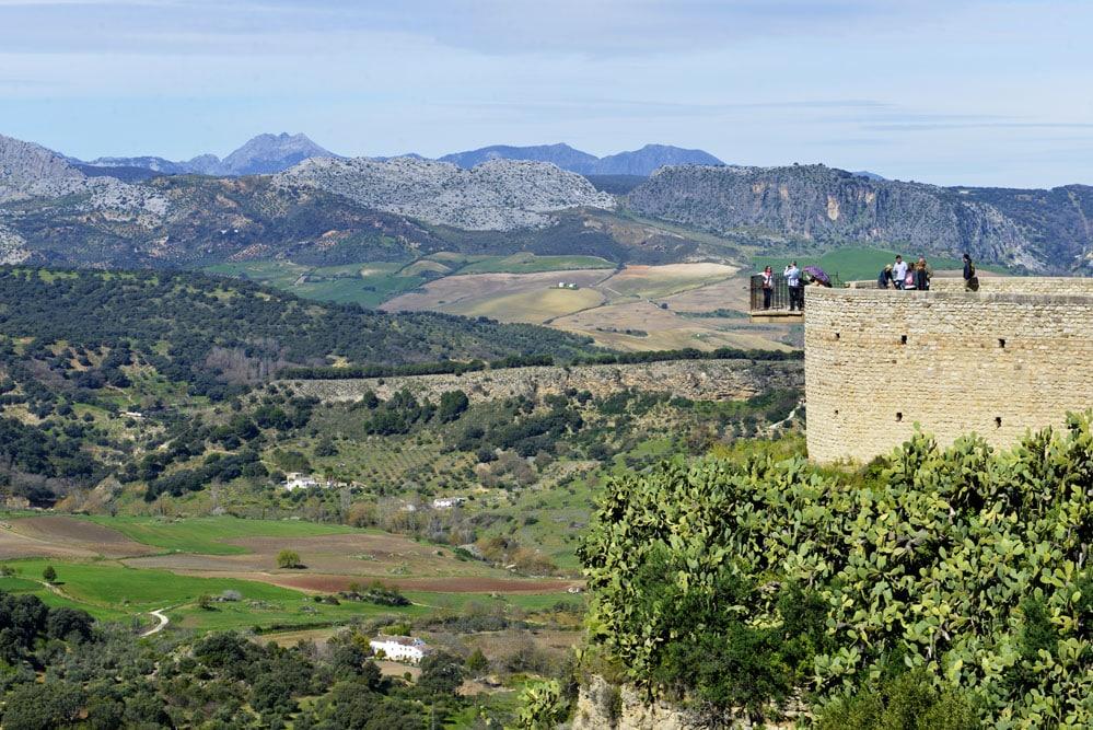 Mirador eller utsikt i Ronda