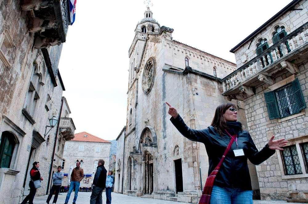 St Mark Cathedral i Korcula