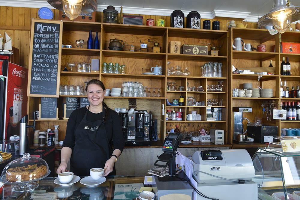 Glesvær kafé på Sotra