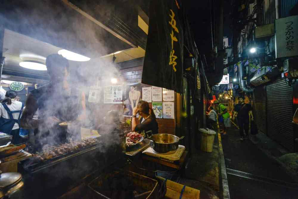Shomben Yokochō Piss Alley i Shinjuku