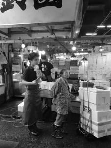Tsukiji fiskemarked en av de største severdighetene i Tokyo