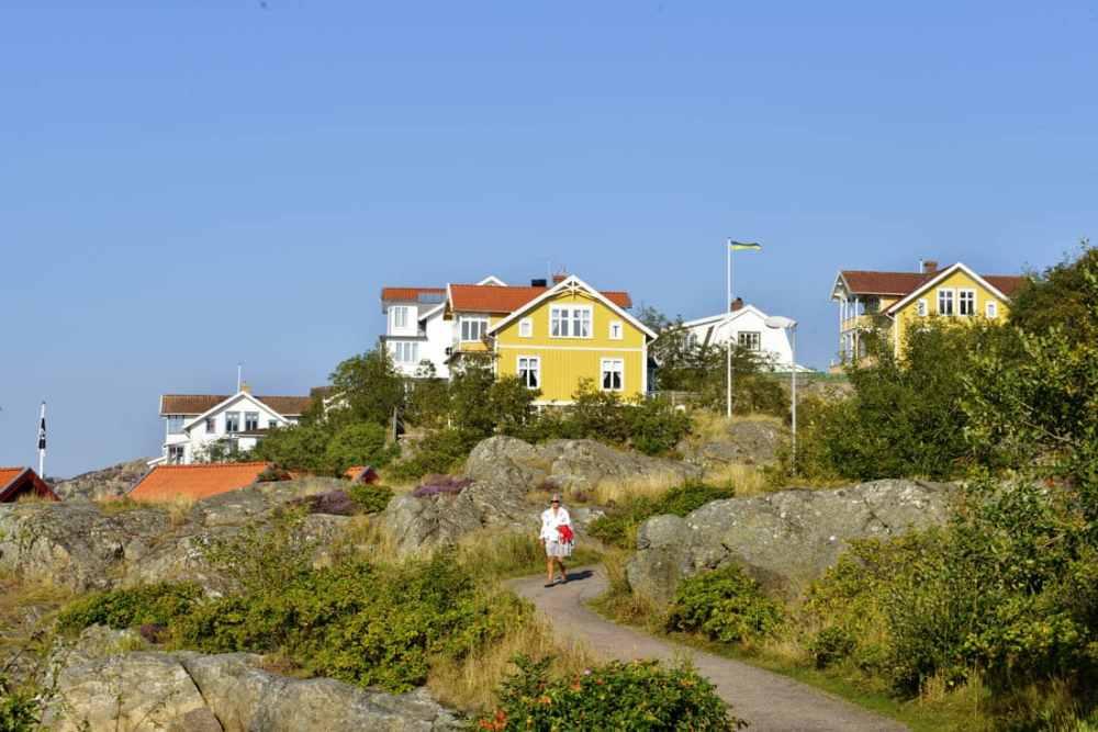 Fiskebäckskil sør for Lysekil