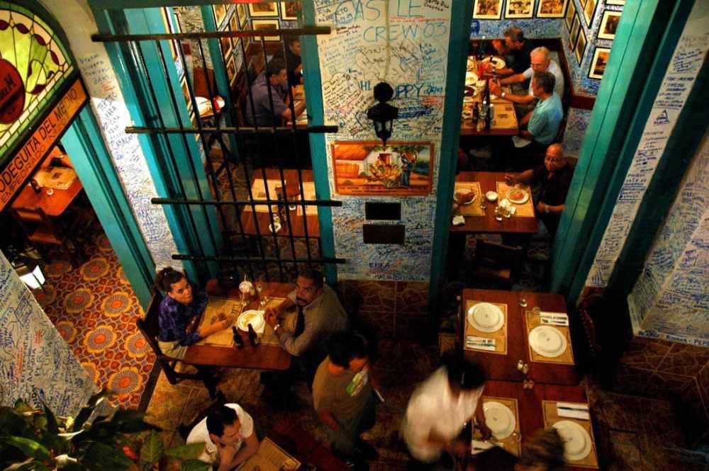 La Bodeguita del Medio i Havana