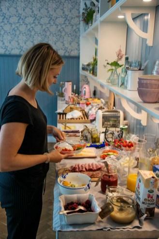Frokost på Okéns hotell i Varberg