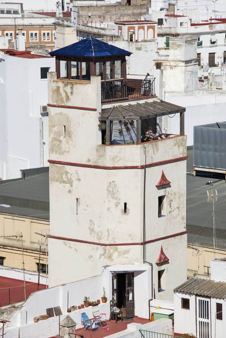 tårn i Cadiz Spania