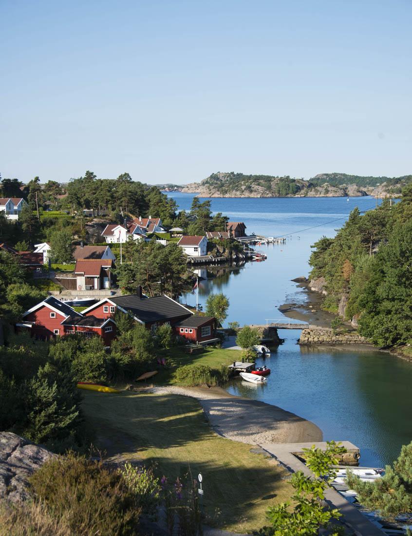 Søgne på Sørlandet en herlig norsk sommerdag