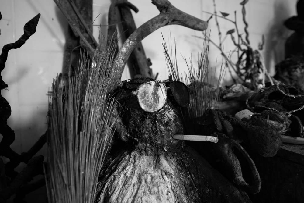 gudestatue i voodoo i Benin