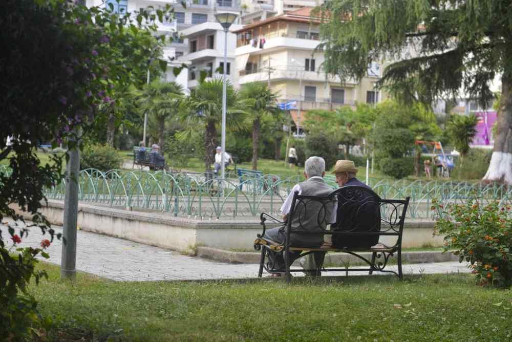 Miqesia Park i Saranda Albania