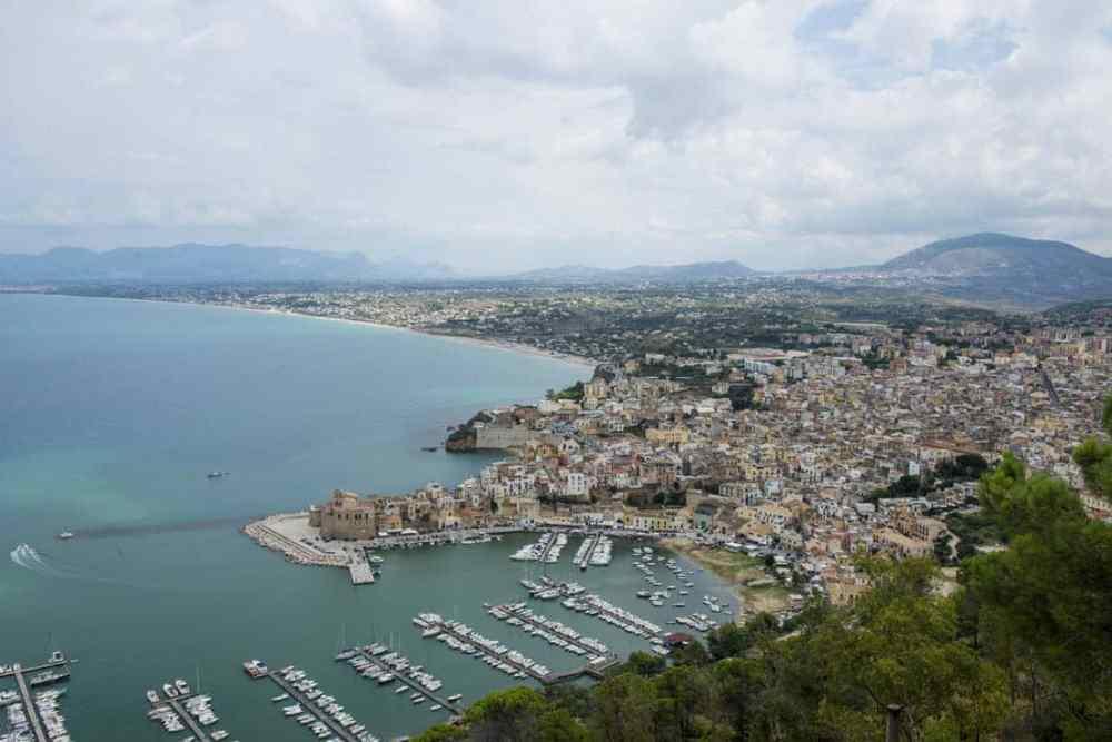 Utsikt over Castellammare del Golfo