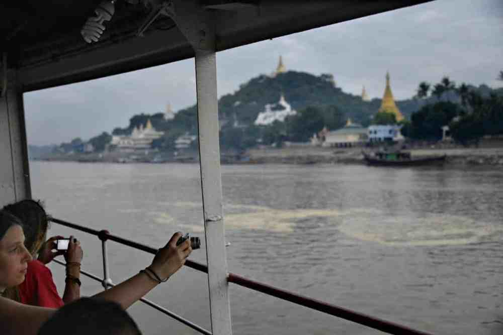 Sagaing langs Irrawaddy