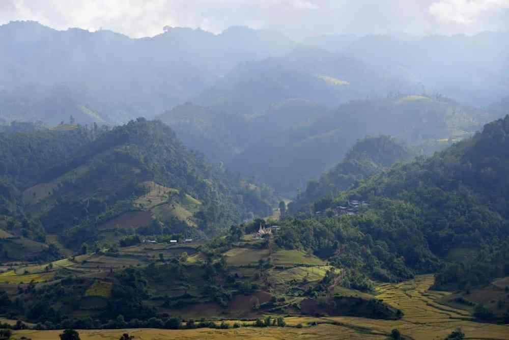 Landskap i Myanmar