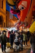 Heliumballonger i Reggio Emilia