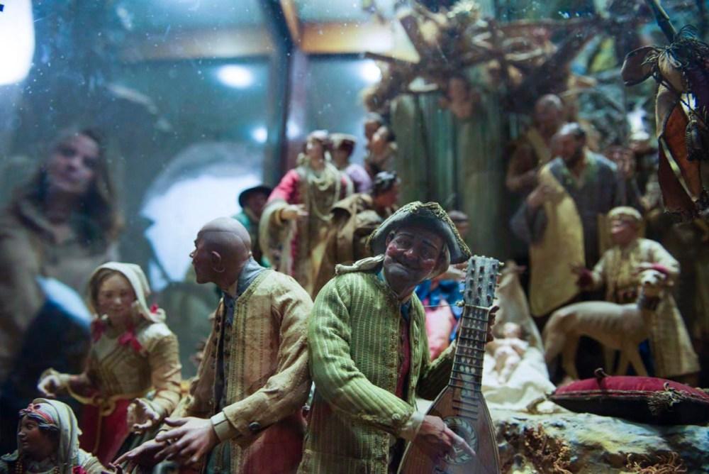 Musikanter fra napolitansk julekrybbe